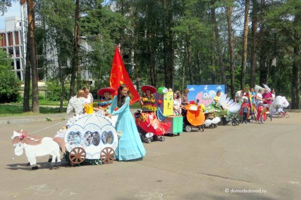 Парад колясок в Домодедово