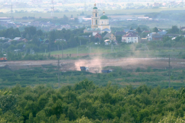 Свалка в Домодедово