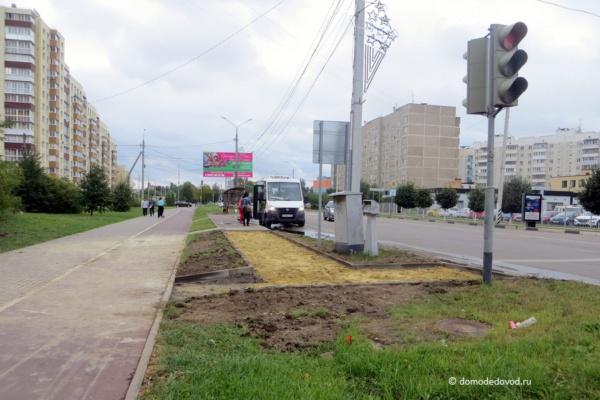 Новый пешеходный переход на Советской улице