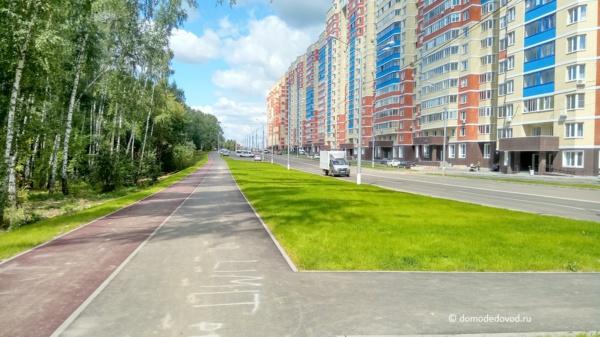 Тротуар и велодорожка
