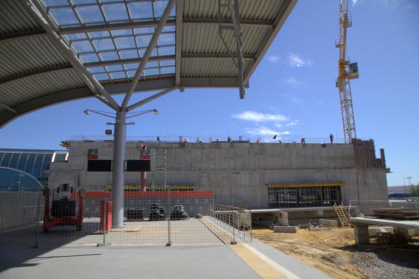 Строительство нового терминала Аэроэкспресса