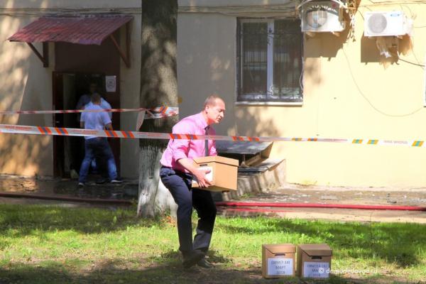 Эвакуация документов во время пожара