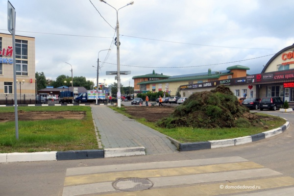 Реконструкция развязки на улице Корнеева