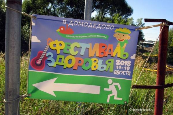 Фестиваль здоровья в Домодедово