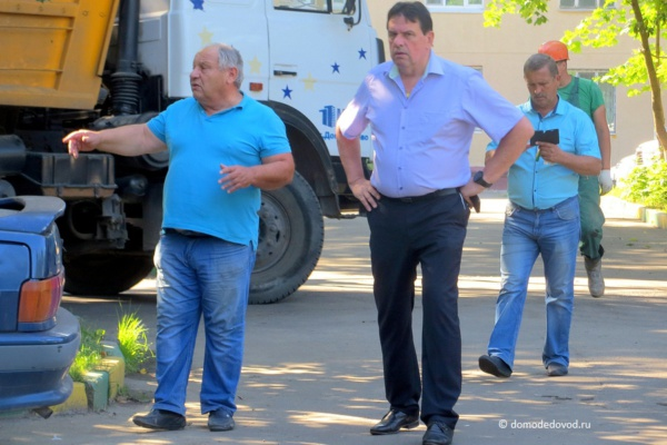 Генеральный директор ЗАО «Мособлстройтрест №11» Владимир Шокуров