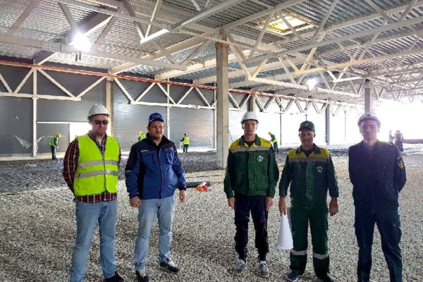 Строительство магазина «Декатлон» в Домодедово