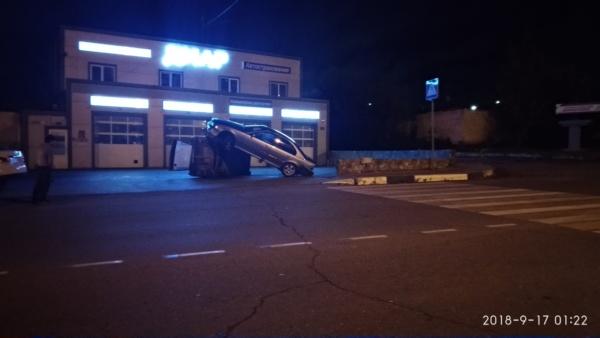ДТП в Домодедово на улице Корнеева