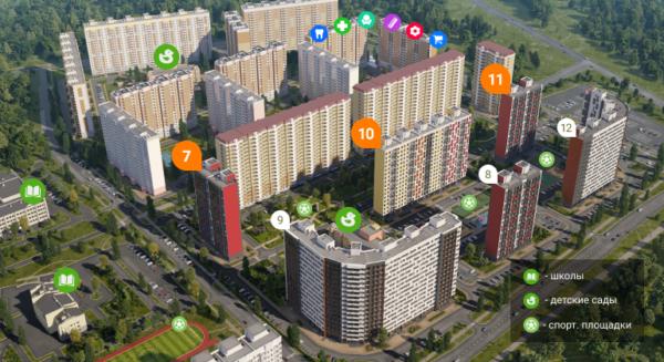 Домодедово Парк Новый Квартал
