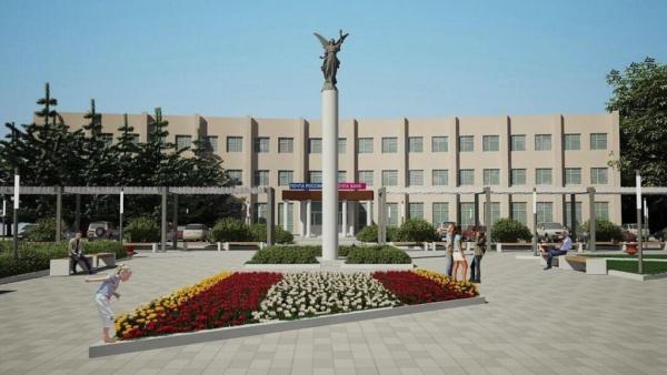 Реконструкция площади перед зданием Главпочтамта. Фото: domod.ru