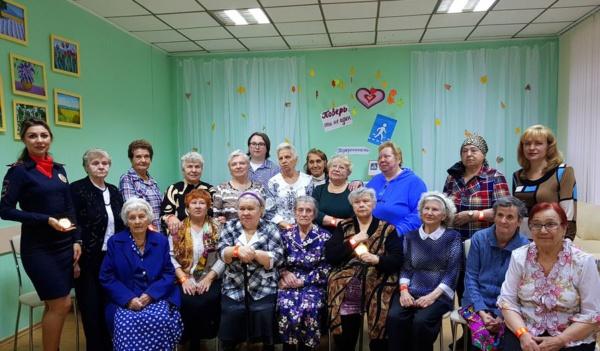 Акция Засветись для пожилых людей с ограниченными возможностями здоровья