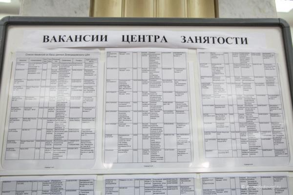 Обзор зарплат в Домодедово