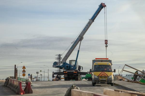 Реконструкция путепровода Новое Домодедово