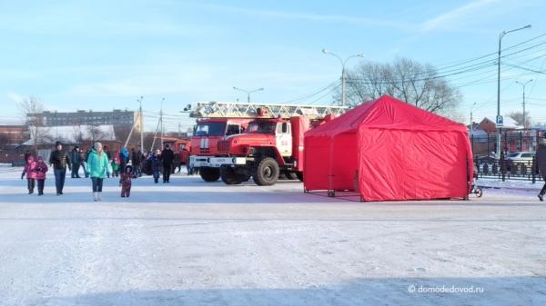 Показ пожарной техники