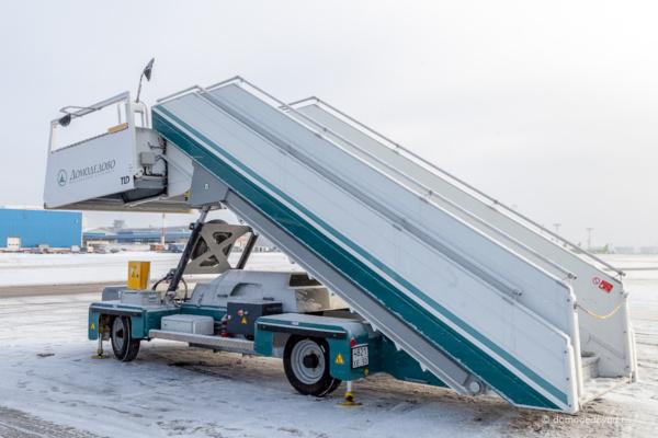 Трап в аэропорту Домодедово