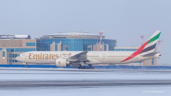 Самолет в аэропорту Домодедово
