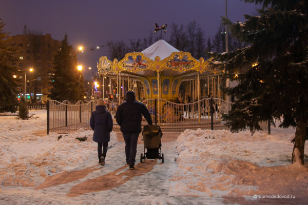 Карусель у ЗАГСа в Домодедово