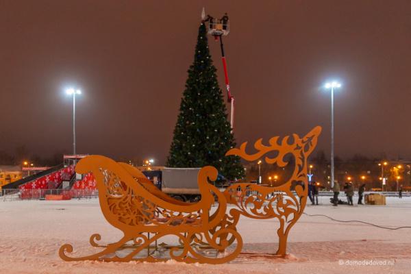 Площадь 30-летия Победы в Домодедово