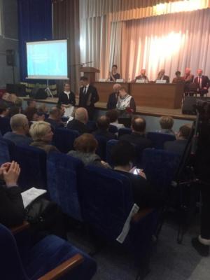 Отчет начальника территориального отдела микрорайонов Белые Столбы и Барыбино