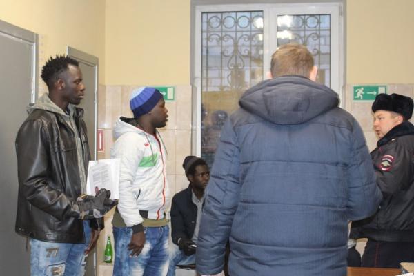 Болельщики чемпионата Мира по футболу задержались в Домодедово