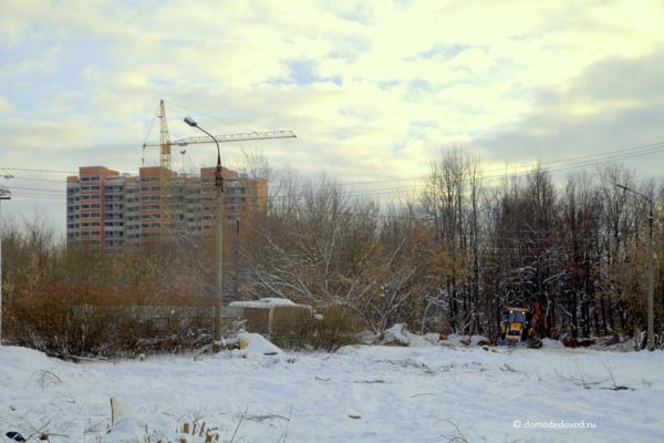 Новостройка Гюнай на улице Текстильщиков