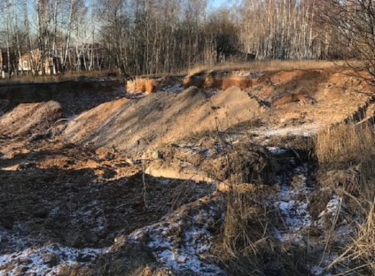 Минэкологии: задержаны организаторы незаконной добычи песка