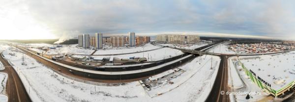 Новое Домодедово и Южное Домодедово