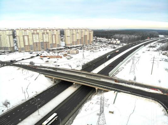 Новый мост через М4 Дон