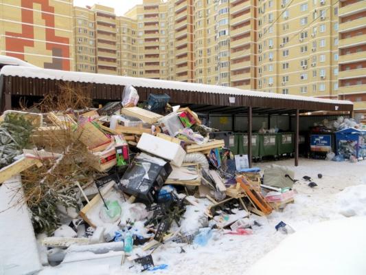 Московская область. Мусорная реформа началась