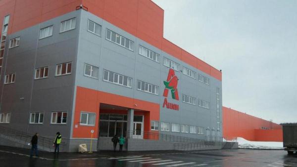 Логистический центр Ашан в Домодедово