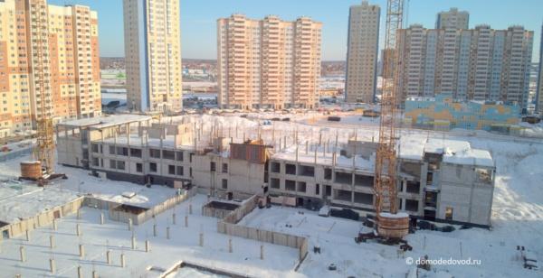 Южное Домодедово. Недостроенная школа