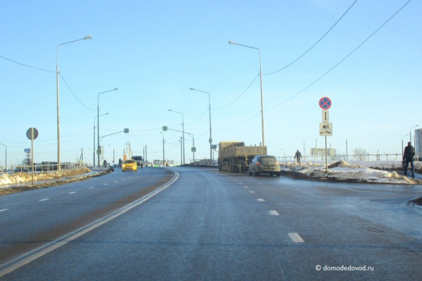 Ремонт моста над М4