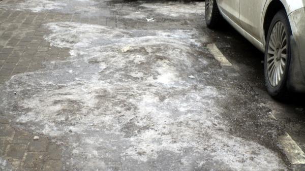 Парковка около «Магнита»