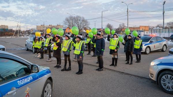 Флешмоб к 23 февраля от ГИБДД Домодедово