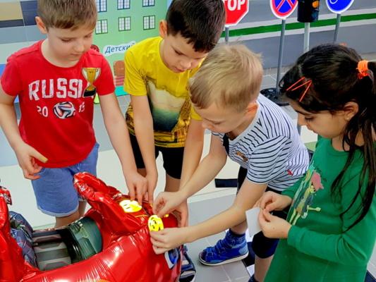 Сотрудники Домодедовской Госавтоинспекции провели практические занятия с детьми