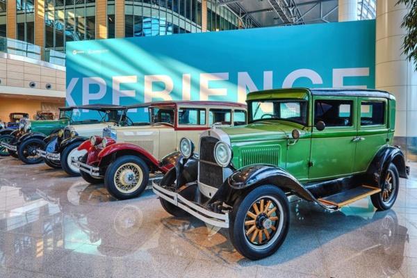 Выставка ретро-автомобилей в Домодедово