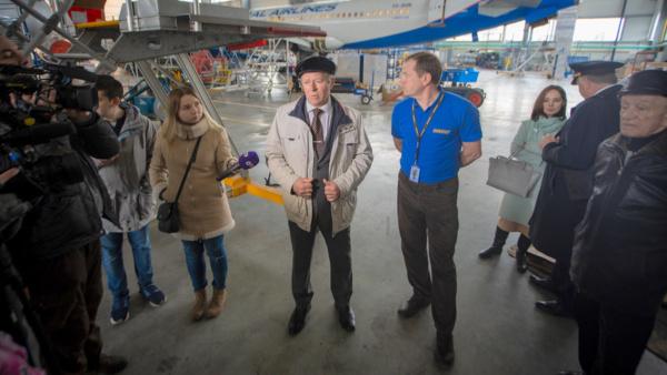 Первый полет 55 лет спустя: ветераны Домодедово и Кольцово встретились в Екатеринбурге