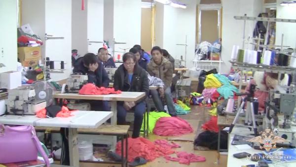 Нелегальный пошивочный цех