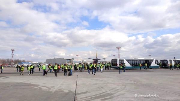 Аэропорт Домодедово празднует 57-й день рождения