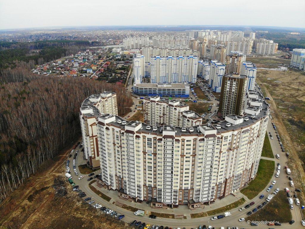 Новое Домодедово. Вид сверху.