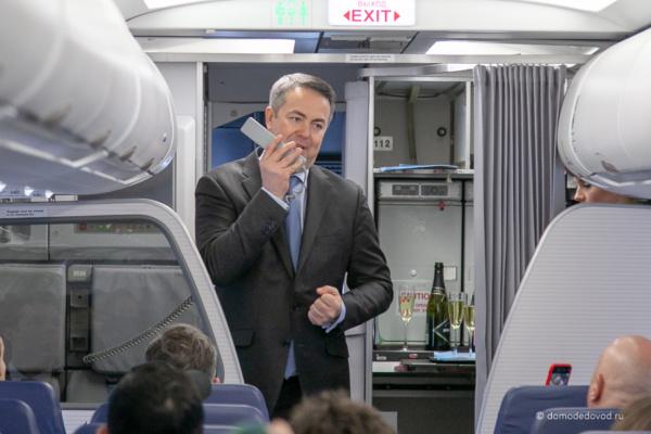 Генеральный директор авиакомпании Red Wings Евгений Ключарев