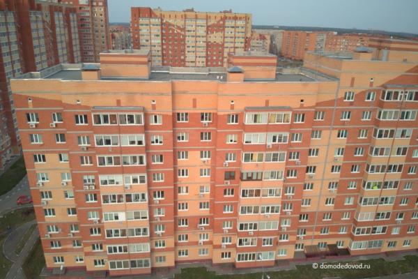 Микрорайон «Дружба» в Домодедово с высоты птичьего полета