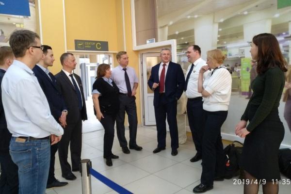 Встреча представителей аэропортов и колледжа «Московия»