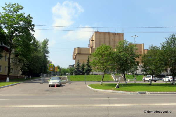 Контроль скорости в Домодедово