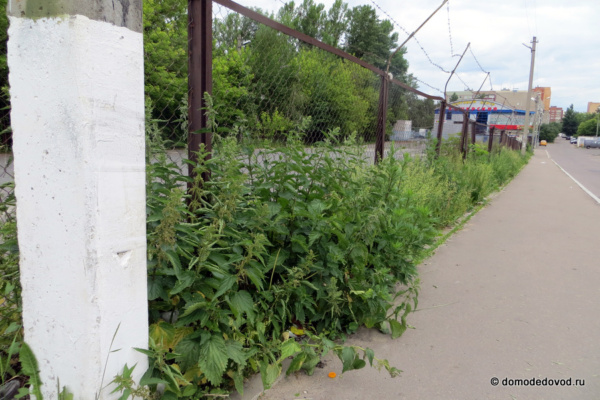 Парковка на улице Корнеева