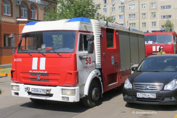 Пожар на улице Корнеева