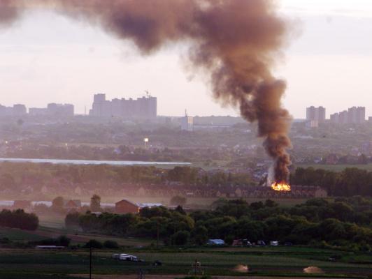 Фото очевидца Пожар «Московские дали»