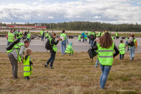 Семейный споттинг в аэропорту Домодедово
