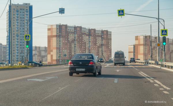 Открыто движение по новому мосту через трассу М-4 «Дон» в микрорайоне Южный