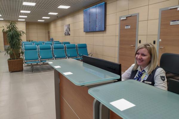 Новый зал в аэропорту Домодедово