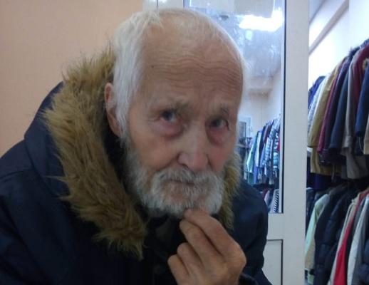 Найден пожилой мужчина